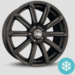jantes mam a2 finition winter proof hiver titan greyr