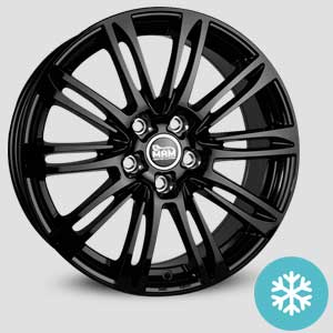 jantes mam a4 finition winter proof hiver black-painted