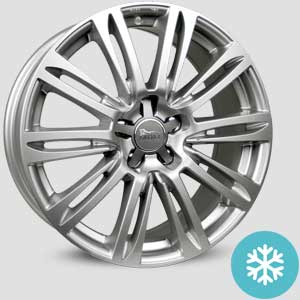 jantes mam a4 finition winter proof hiver silver-painted