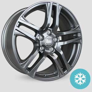 jantes mam a1 finition winter proof hiver grey