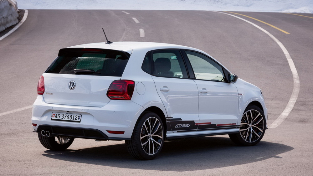 JANTE POLO GTI Black Polished