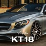La jante KT18 Turbo de la marque Keskin